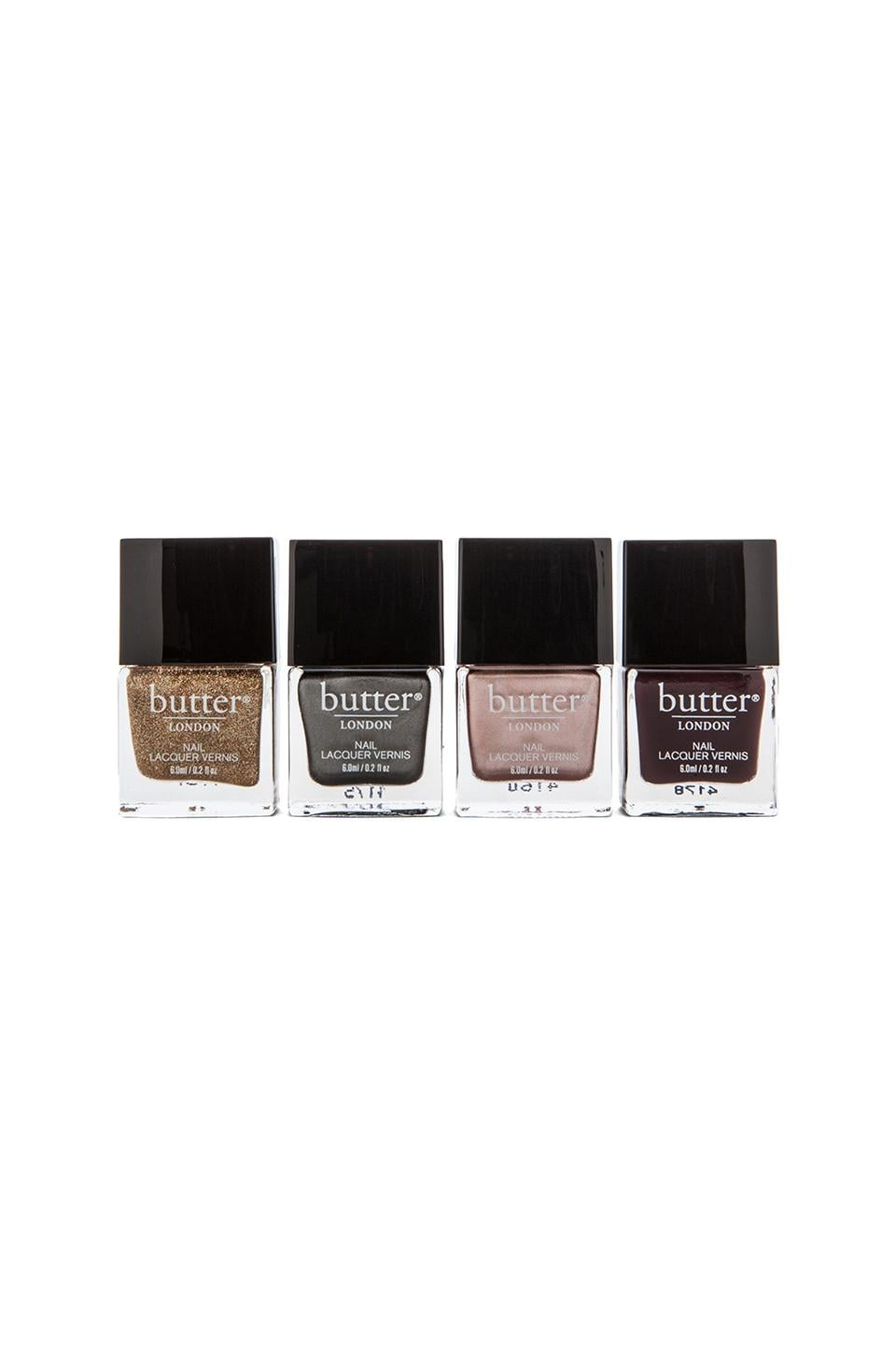 butter LONDON Gilded Gears Nail Set