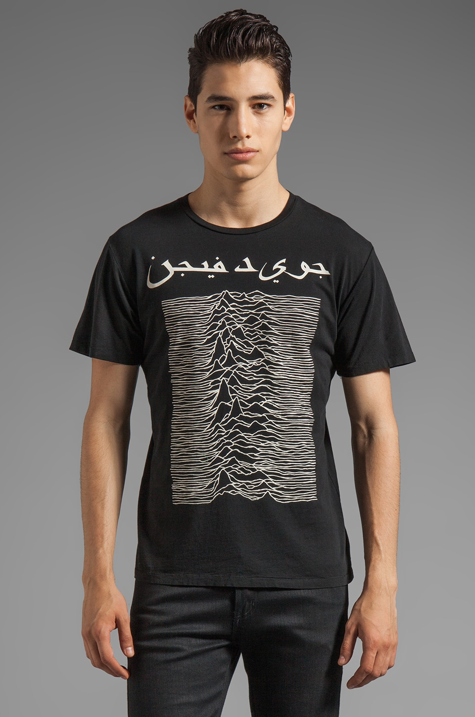 BLOOD IS THE NEW BLACK Arab Division MC Tee in True Black