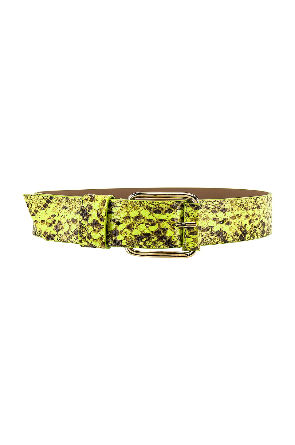 B-Low the Belt Ivy Wide Hendrix Belt in Yellow & Gold