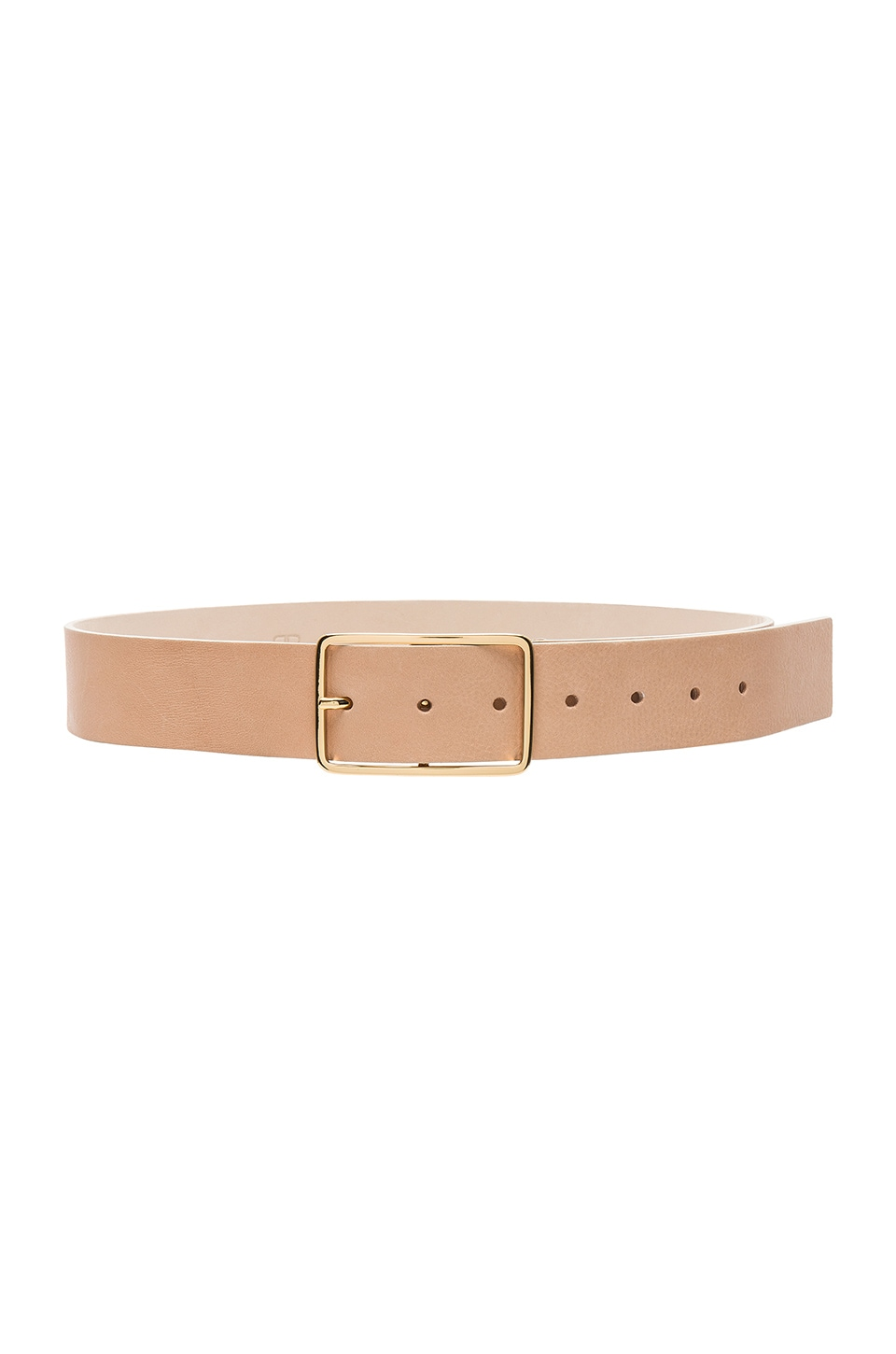B-Low the Belt Milla Belt in Nude & Gold