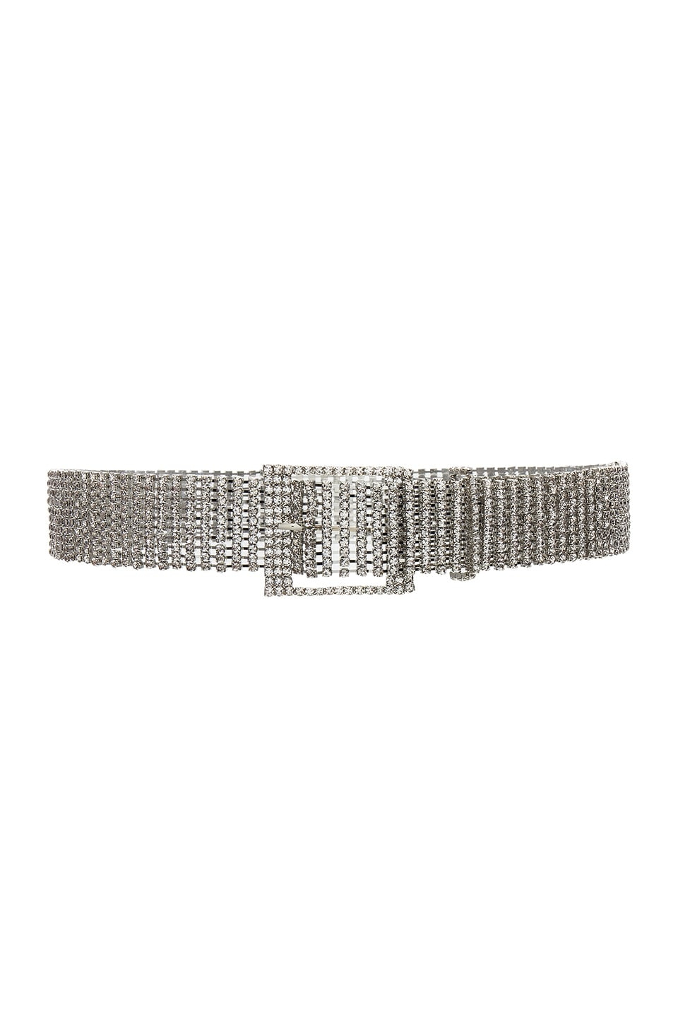 B-Low the Belt Farah Belt in Silver