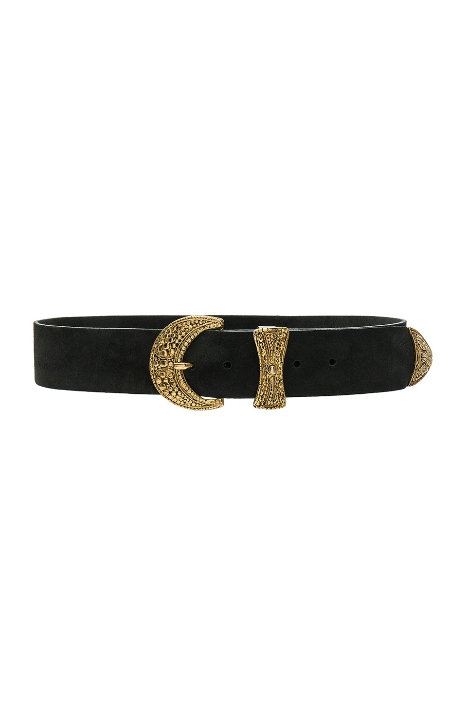 B-Low the Belt Paloma Belt in Forest & Gold