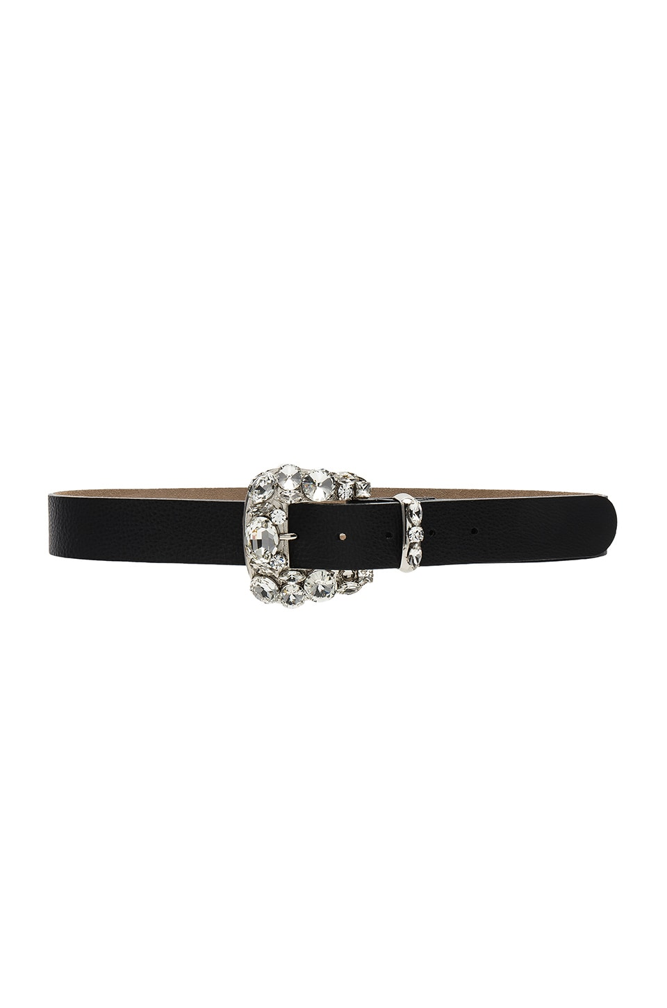 B-Low the Belt Rachel Belt in Black & Silver