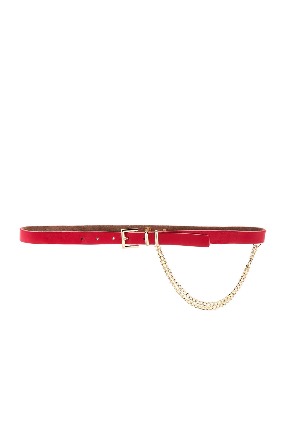 B-Low the Belt Phoenix Mini Belt in Red & Gold