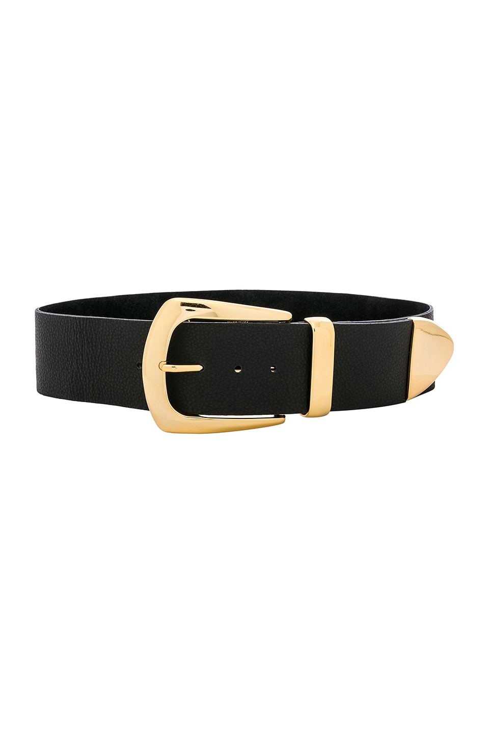 B-Low the Belt Jordana Belt in Black Gold