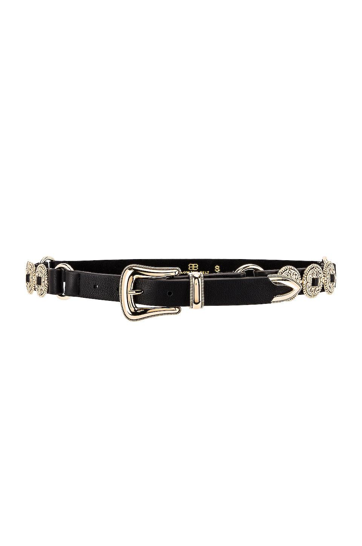 B-Low the Belt Nikko Belt in Black & Gold