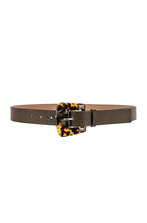 B-Low the Belt Cece Tortoise Belt in Olive