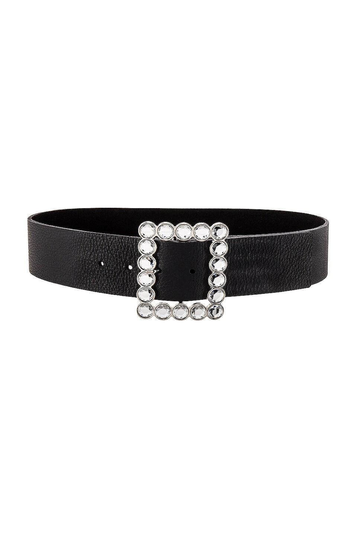 B-Low the Belt Diana Belt in Black & Silver
