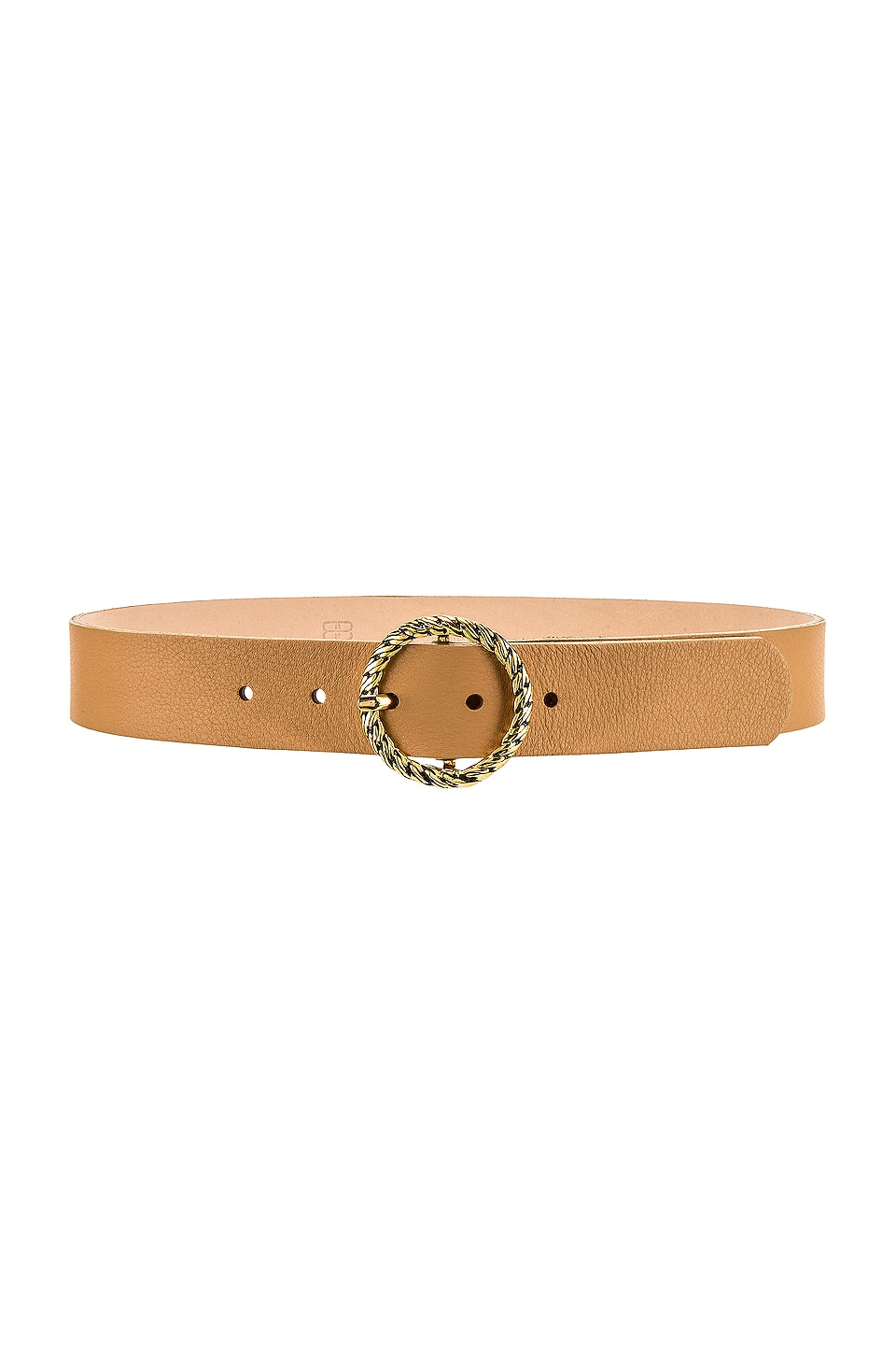 B-Low the Belt Nadia Belt in Vachetta & Gold