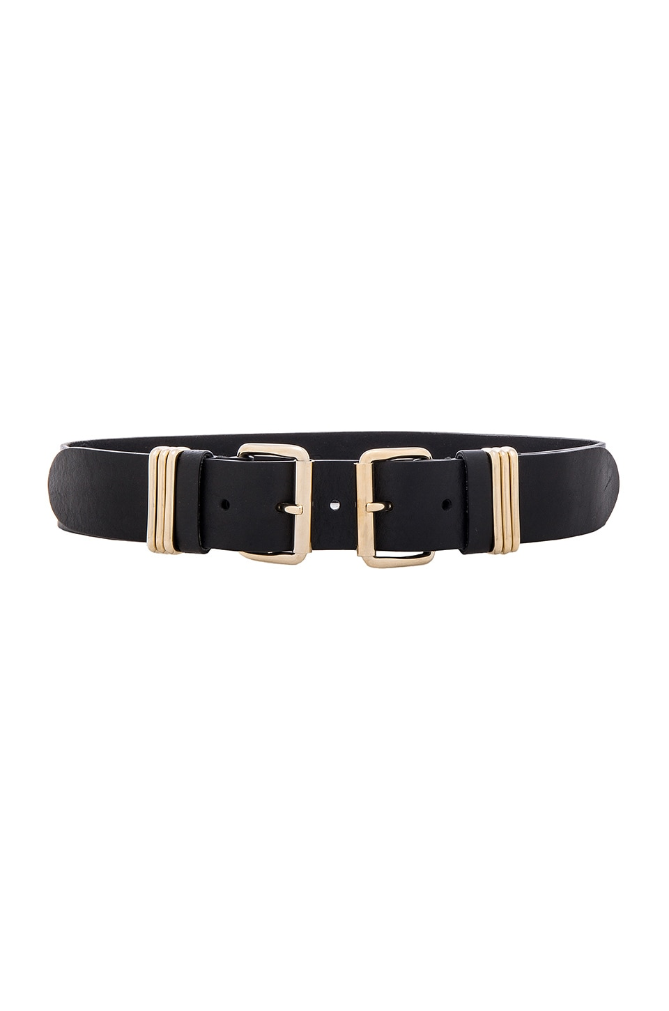 B-Low the Belt Bangles Belt in Black & Gold