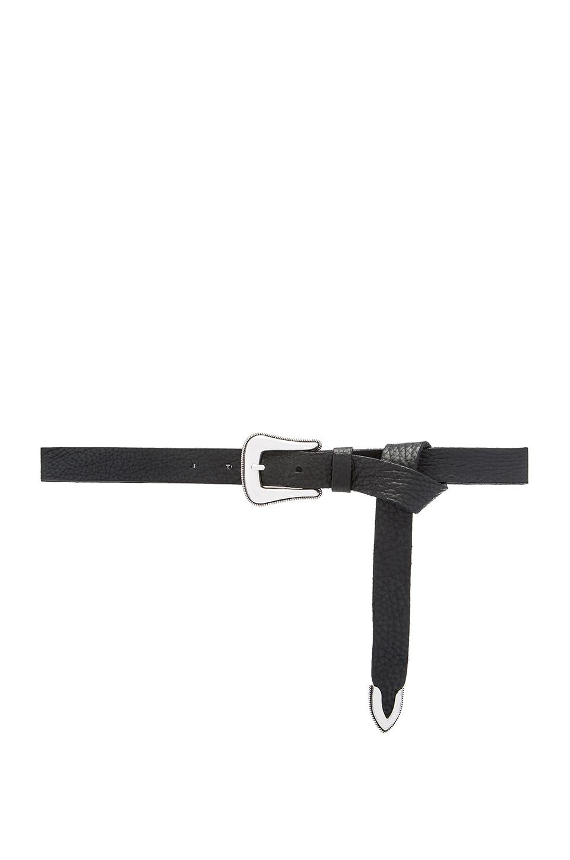 B-Low the Belt Taos Mini Waist Belt in Black