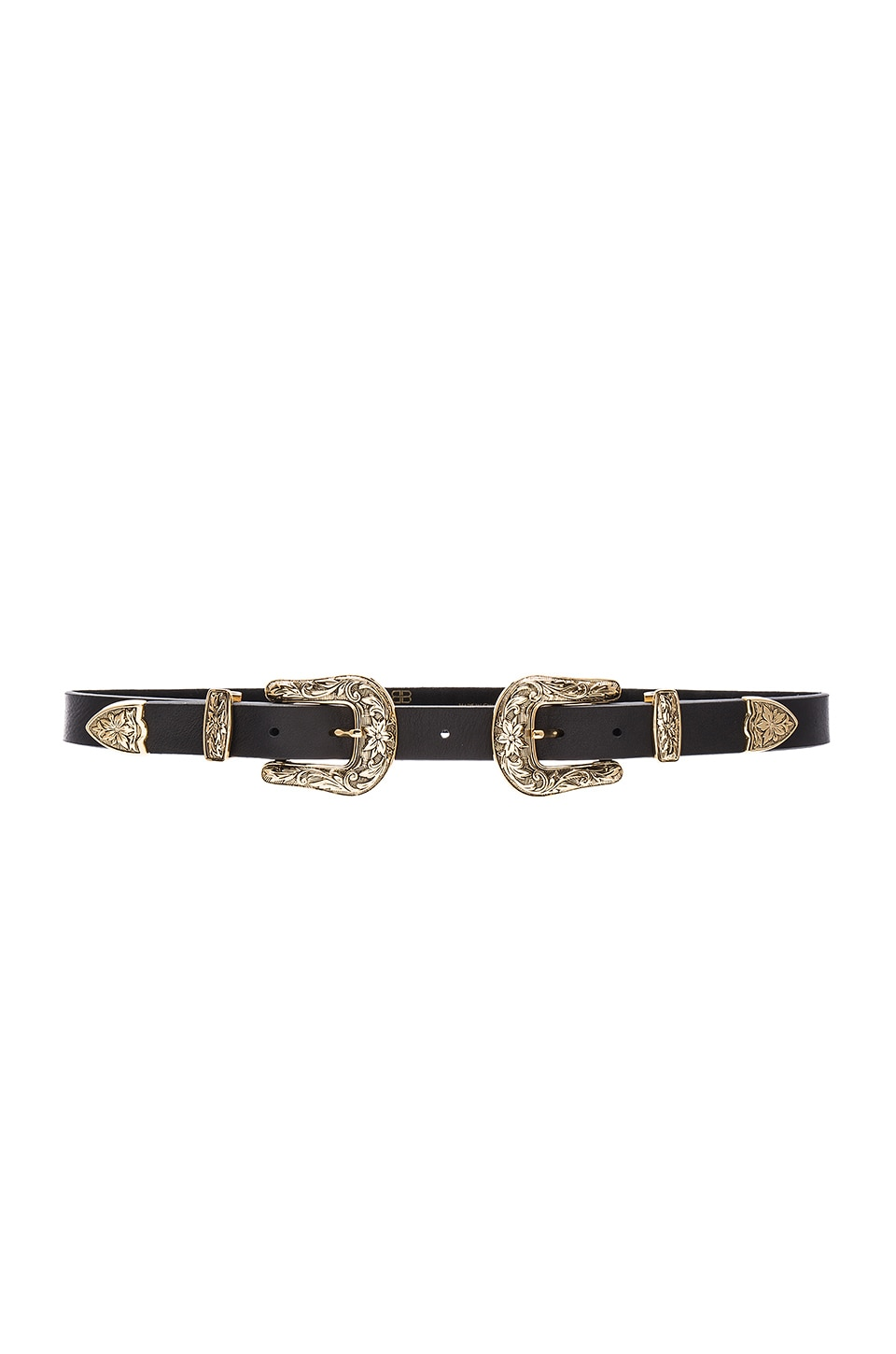 B-Low the Belt Baby Bri Bri Hip Belt in Black & Gold