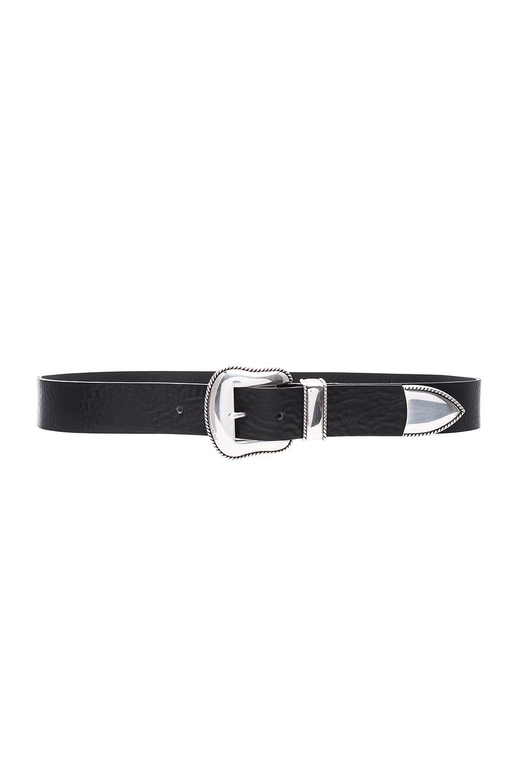 B-Low the Belt Villain Hip Belt in Black & Silver