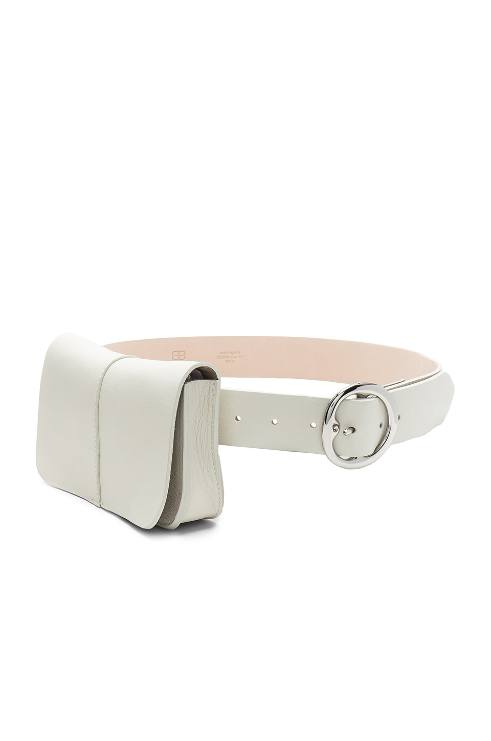 B-Low the Belt Sidney Belt Bag in Pearl & Silver