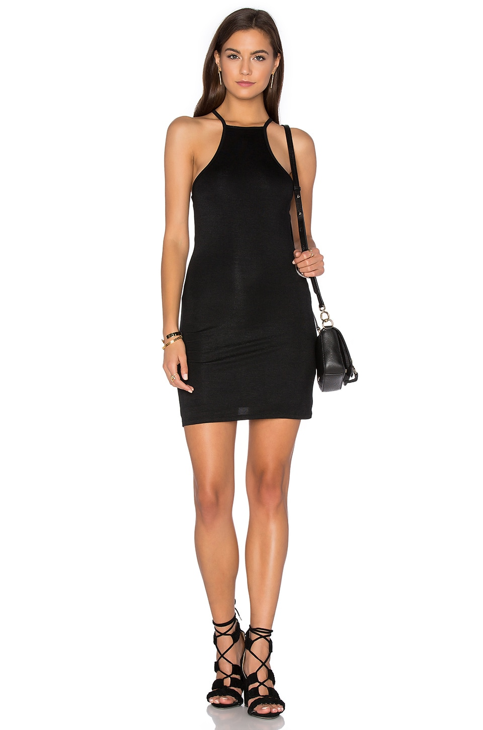 High Neck Tank Dress by Blq Basiq