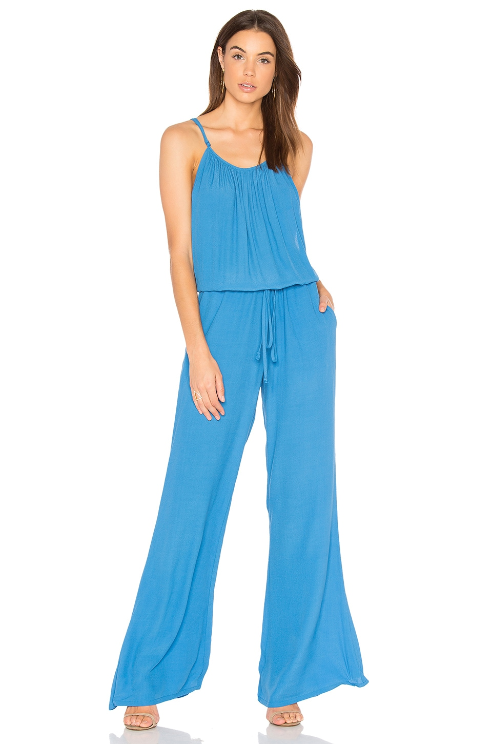 BLQ BASIQ Jumpsuit in Denim Blue
