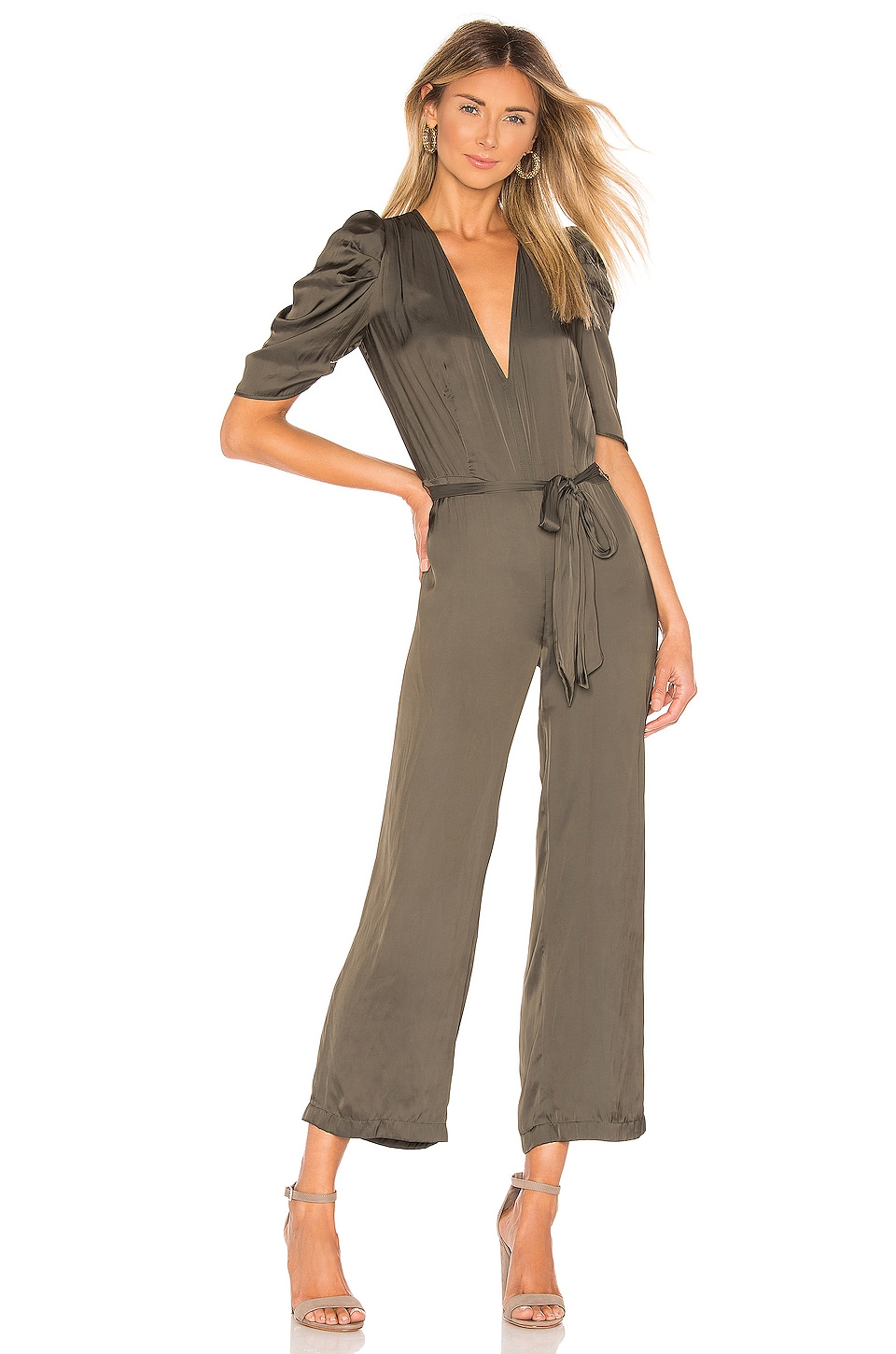 Blue Life Carynn Jumpsuit in Army