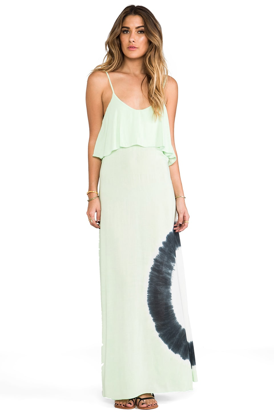 Blue Life Summer Lovin' Maxi Dress in Key Lime Tie Dye