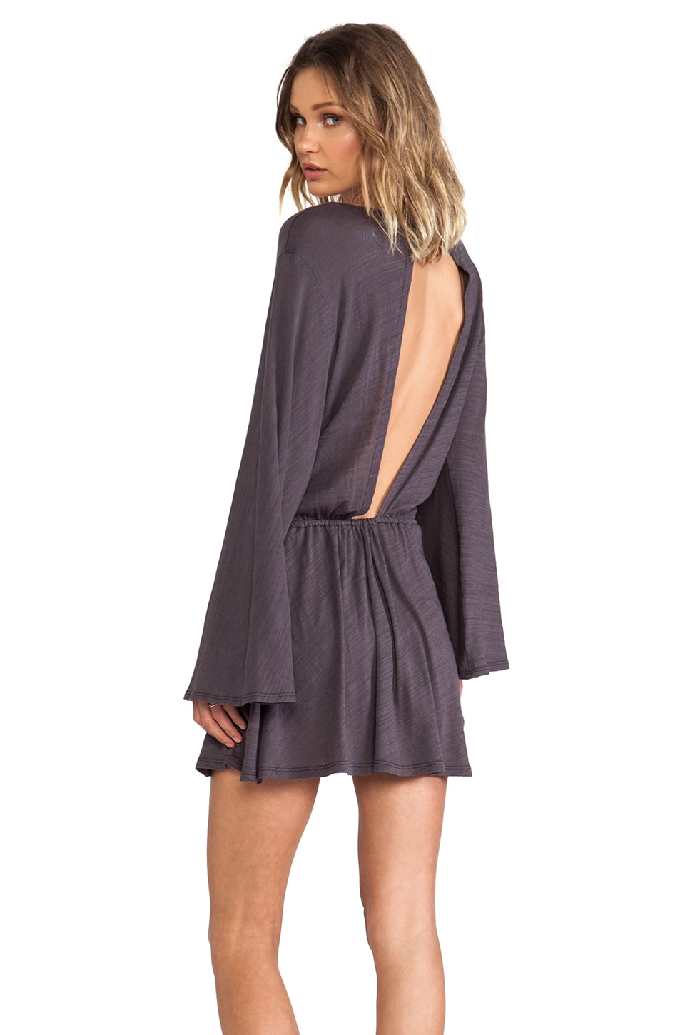 Blue Life Free Spirit Dress in Faded Black