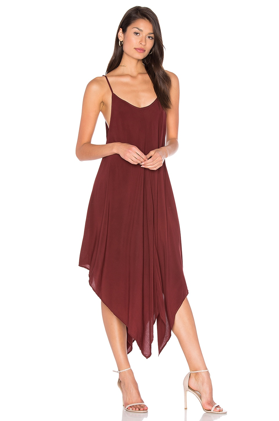 Blue Life Sundown Maxi Dress in Cinnamon