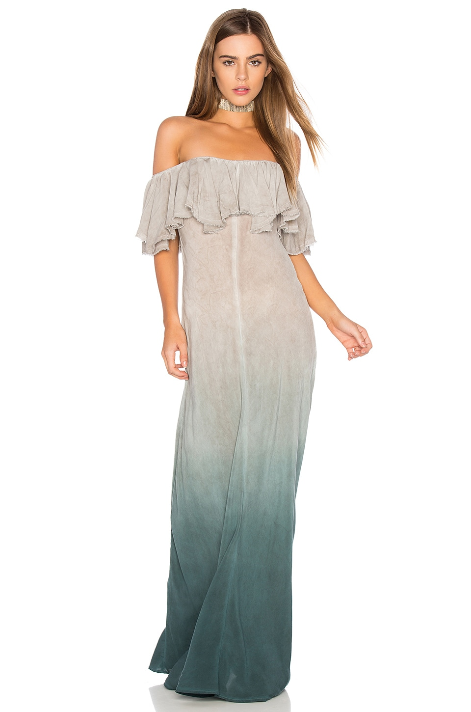 Blue Life Aphrodite Maxi Dress in Antigua Ombre