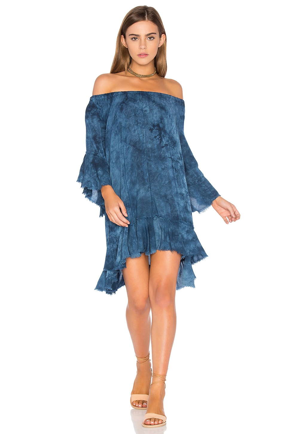 Callista Ruffle Dress by Blue Life
