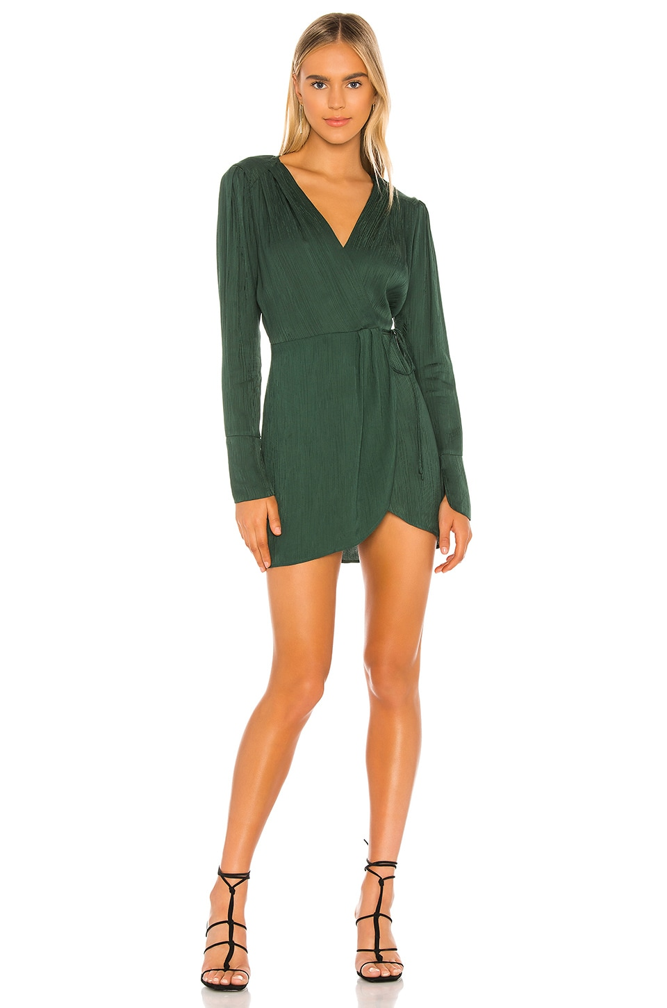 Blue Life Rocio Dress in Forrest Green