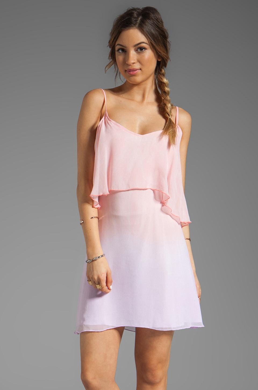 Blue Life Tie Dye Bachelorette Dress in Apricot Lavender