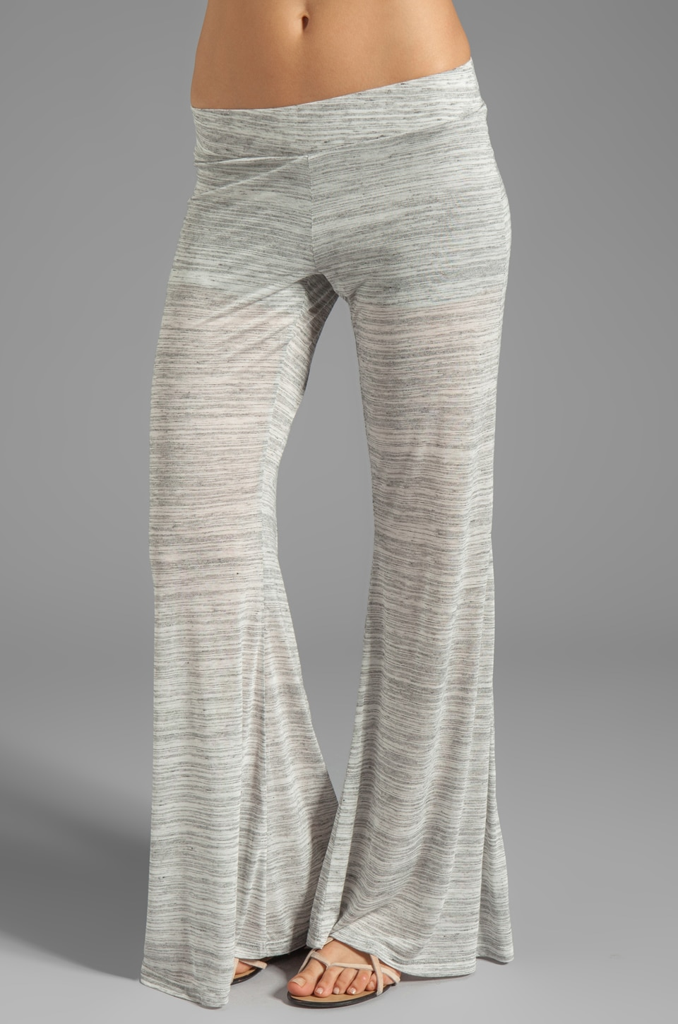 Blue Life Classic Bell Pant in Stone