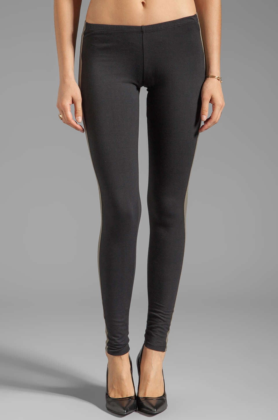 Blue Life Earn Your Stripes Legging in Military Combo