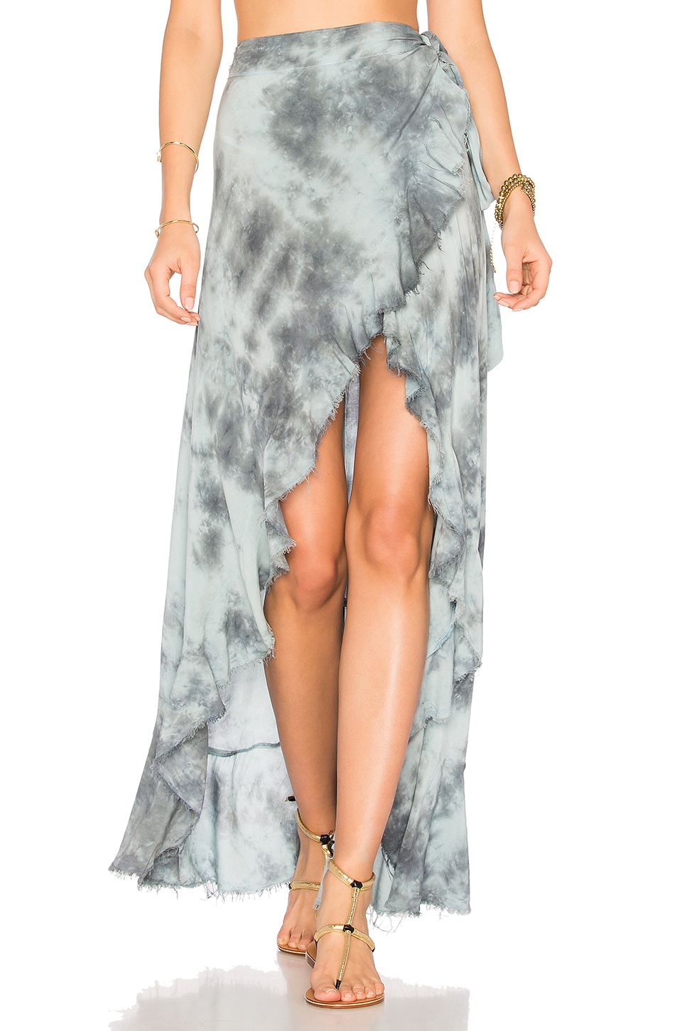 Aura Wrap Skirt by Blue Life