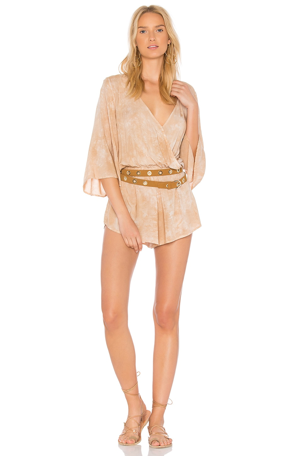 Wild And Free Romper by Blue Life