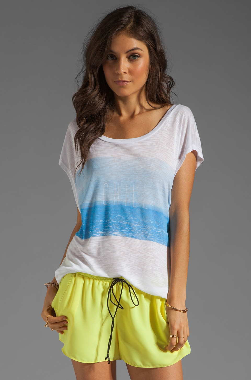 Blue Life Chill Boardwalk Tee in Chill