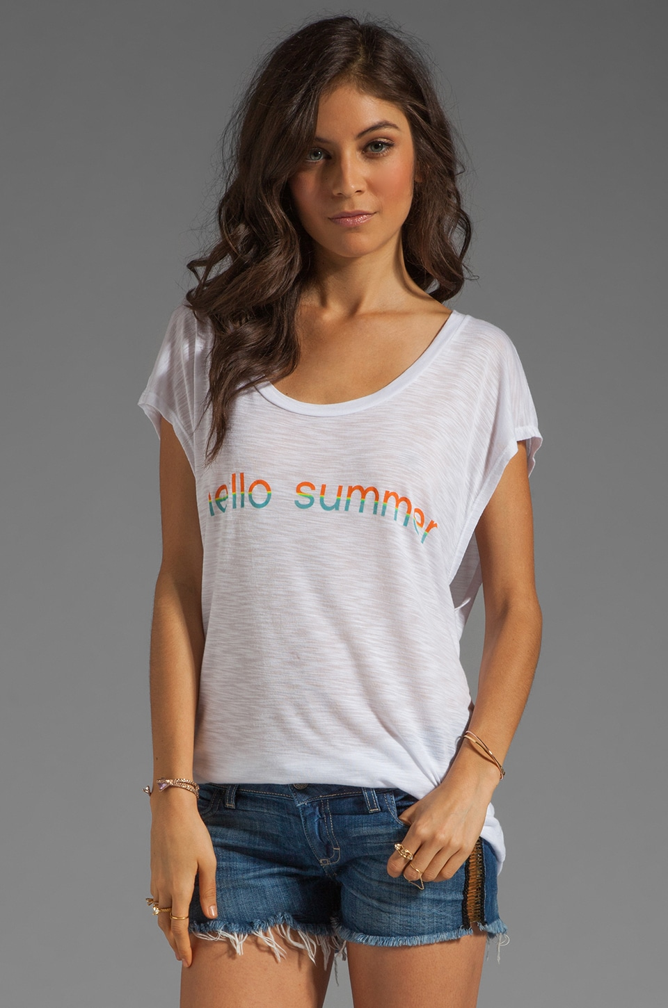Blue Life Hello Summer Top in Hello
