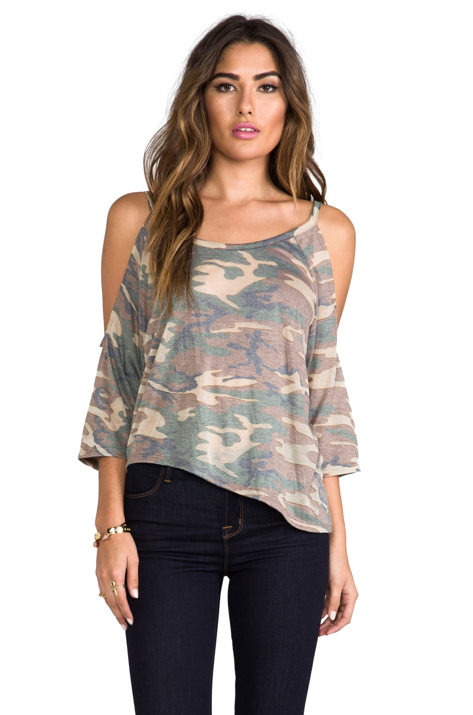 Blue Life EXCLUSIVE Trendsetter Top in Camo