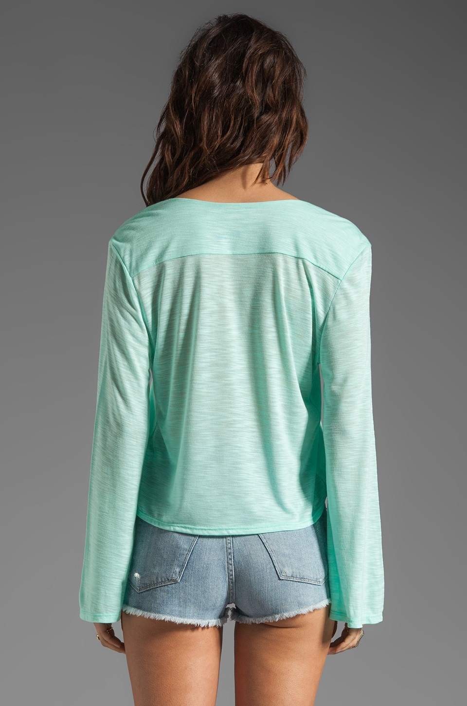 Blue Life Hayley Top in Mint