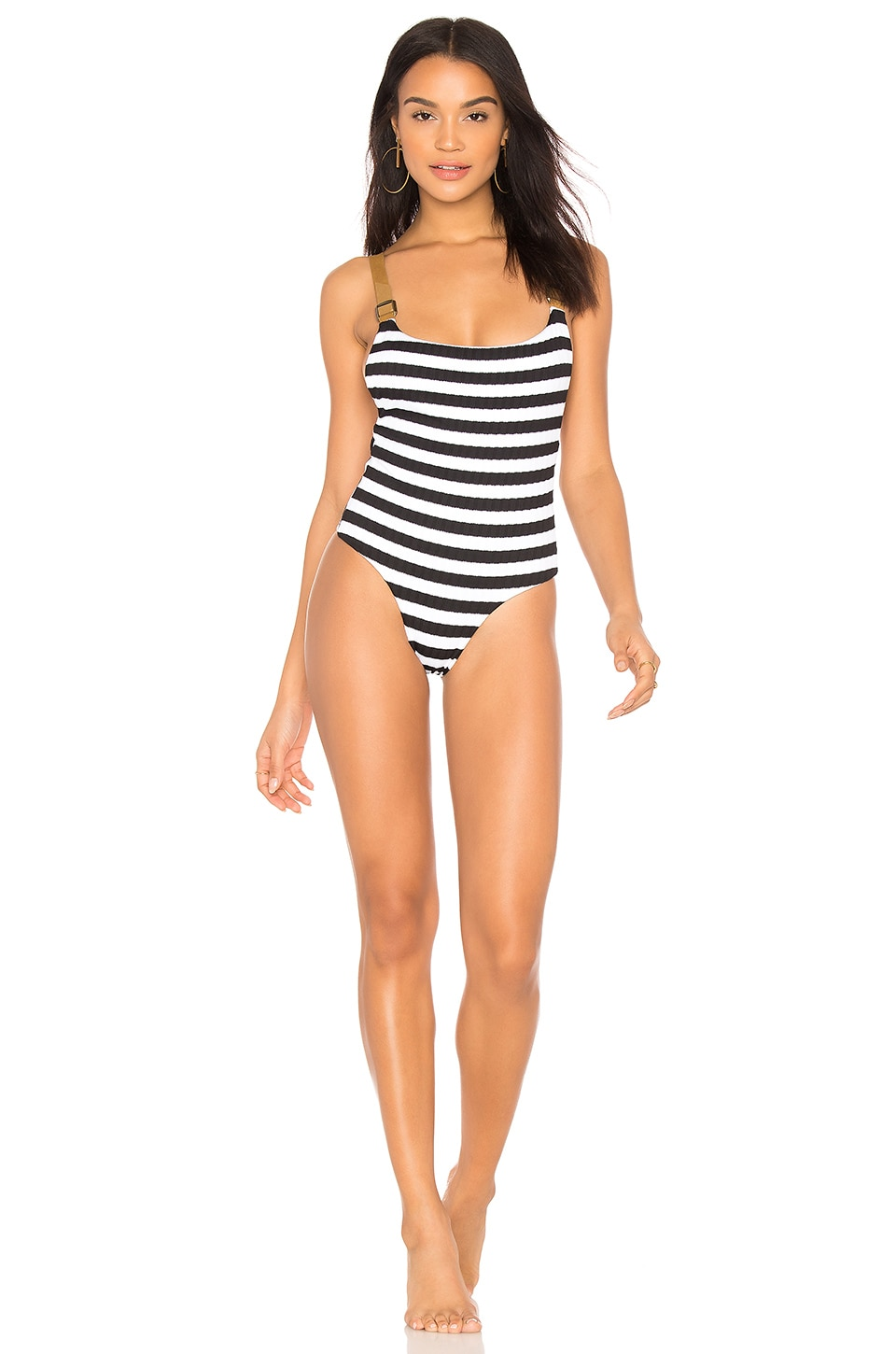 Buckled Overall One Piece by Blue Life Swimwear