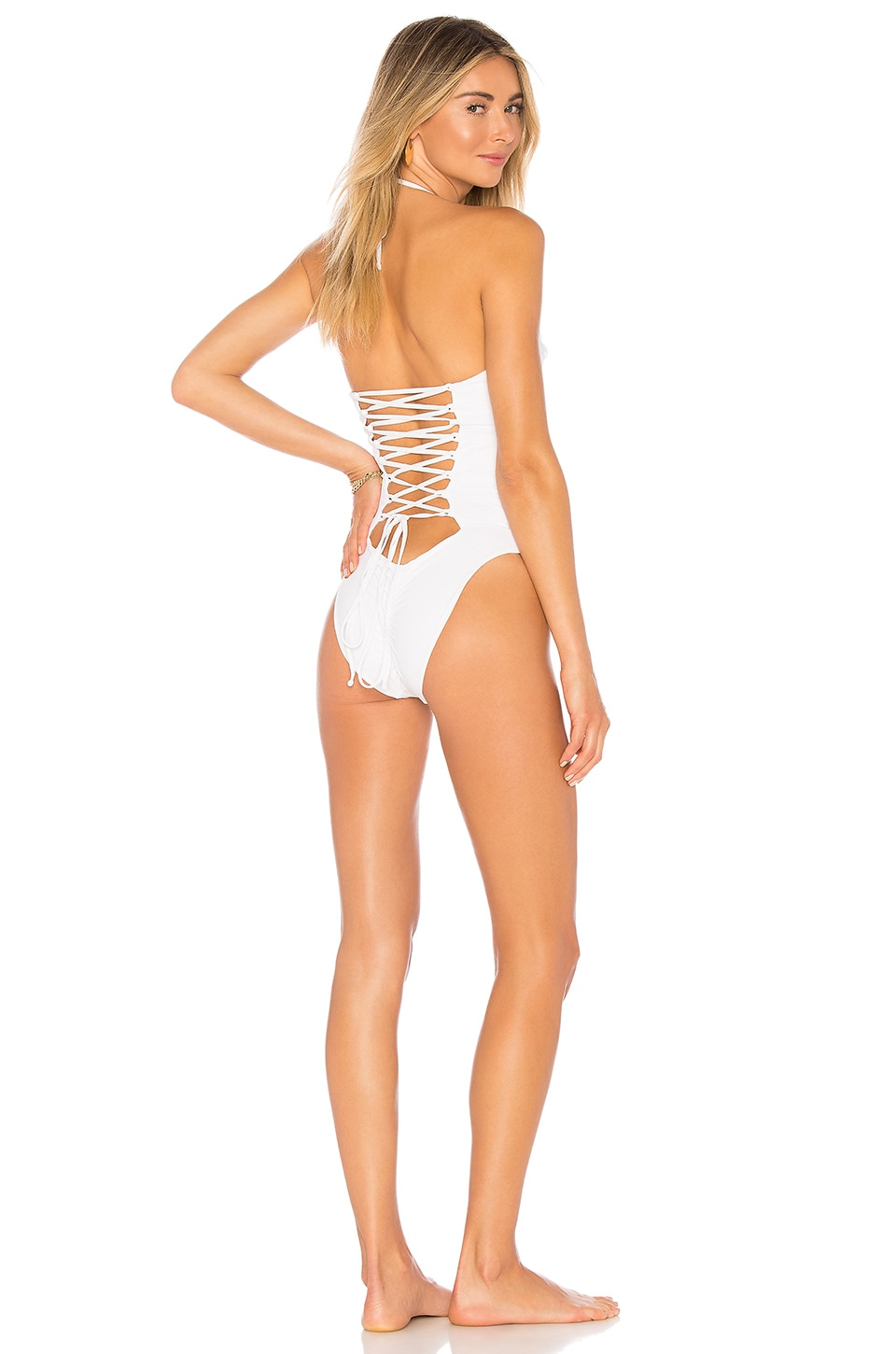BLUE LIFE MAGNOLIA LACE UP ONE PIECE
