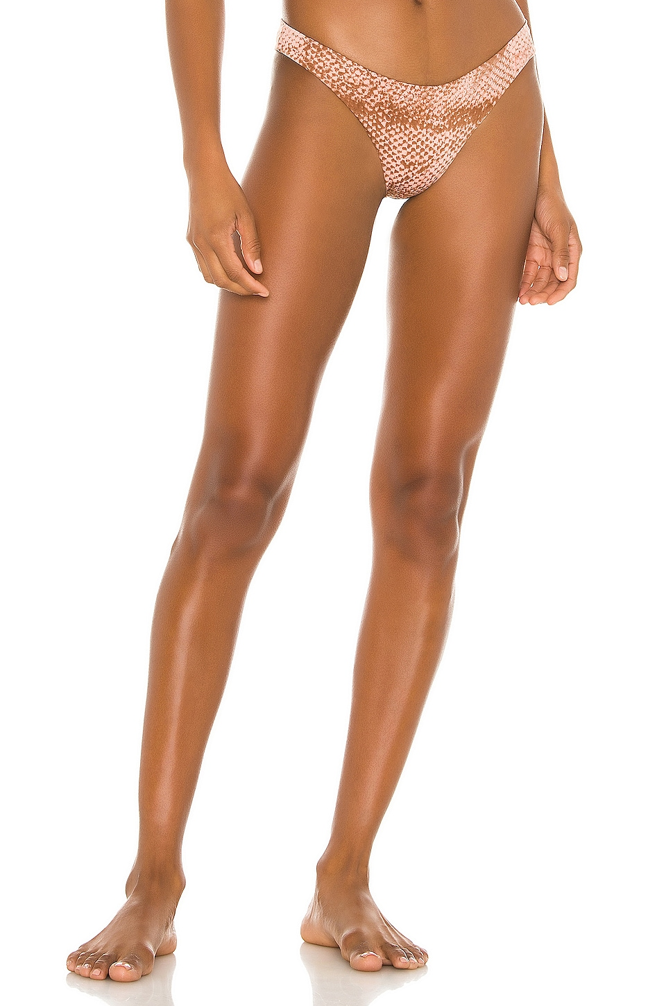 Blue Life Island Fever Cheeky Bottom in Rose Stamped