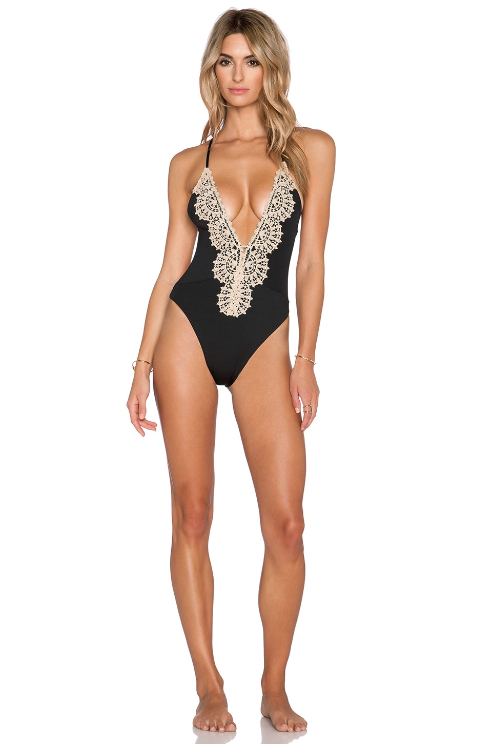 Blue Life Eclipse Swimsuit in Black