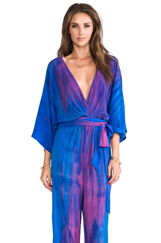 Blu Moon Kimono Sleeve Jumper in Aurora