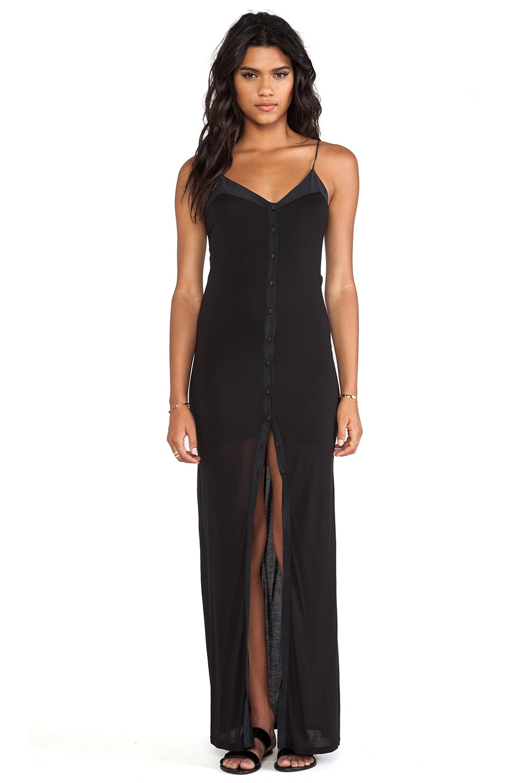 Bella Luxx Cami Maxi Dress in Black