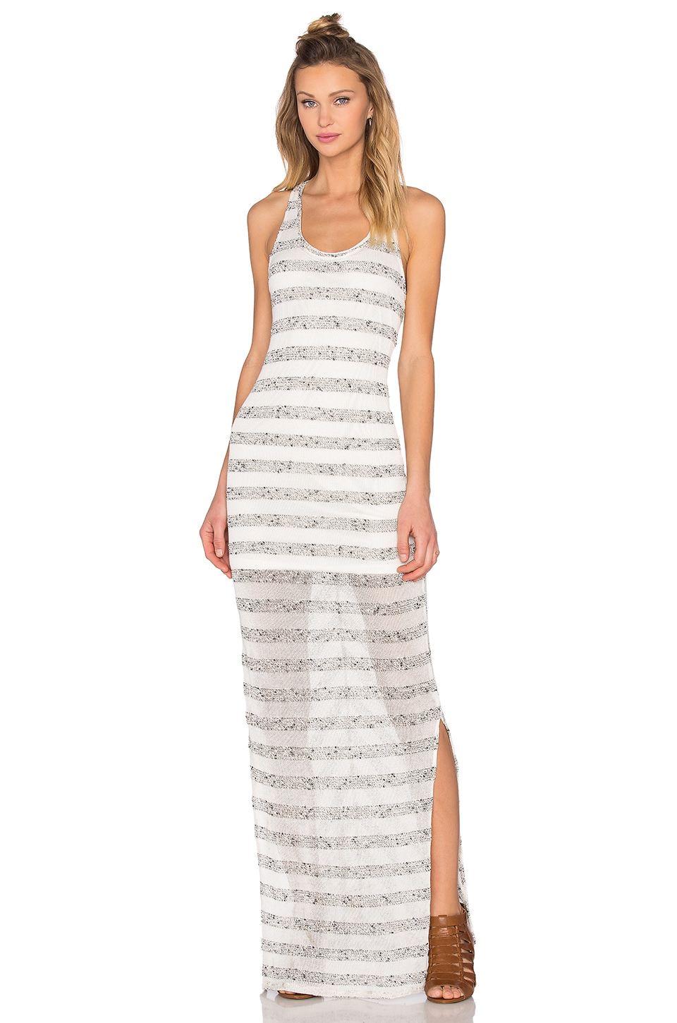 Stripe Maxi Dress by Bella Luxx