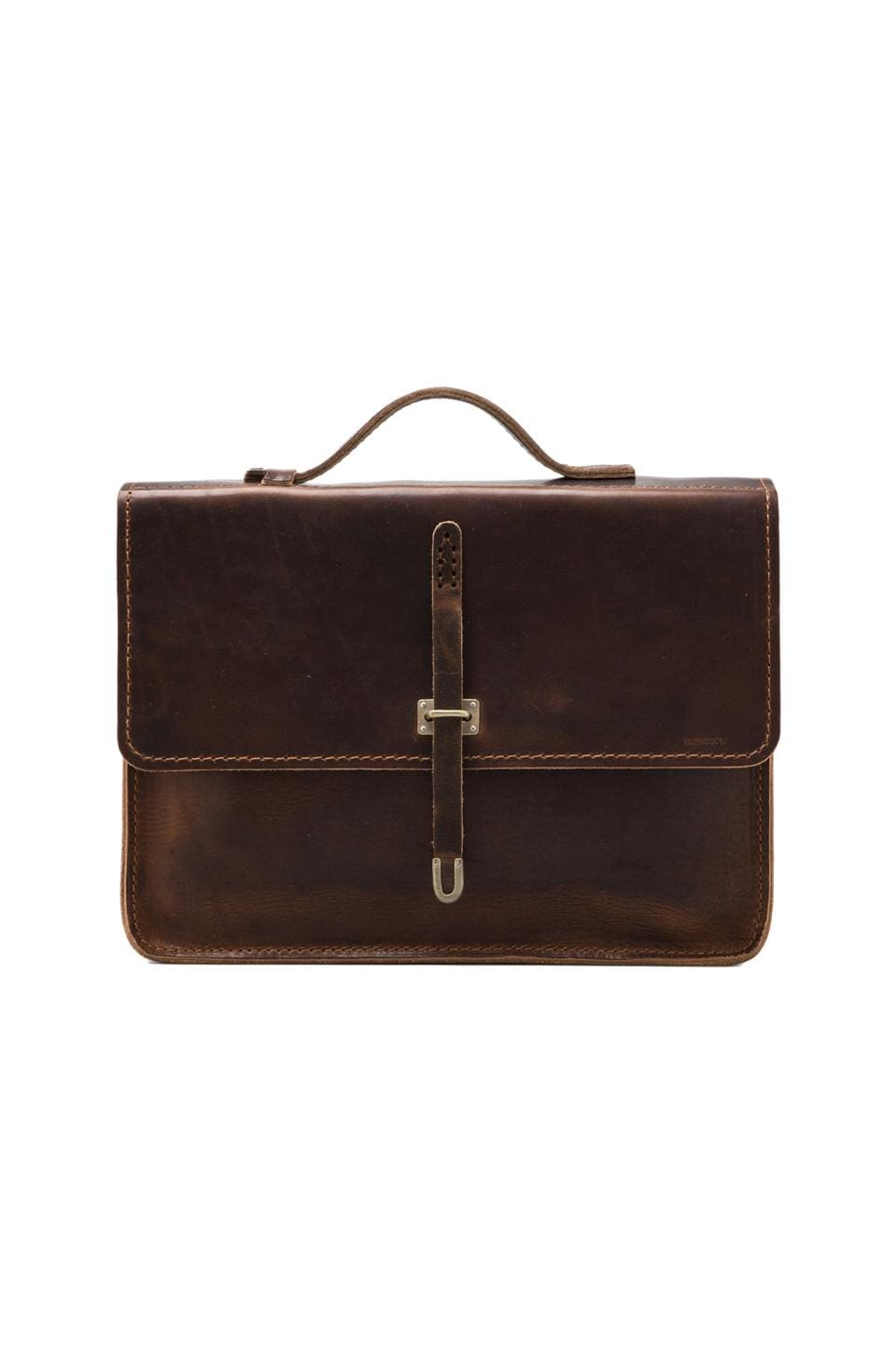 Billykirk No. 236 Schoolboy Satchel en Marron