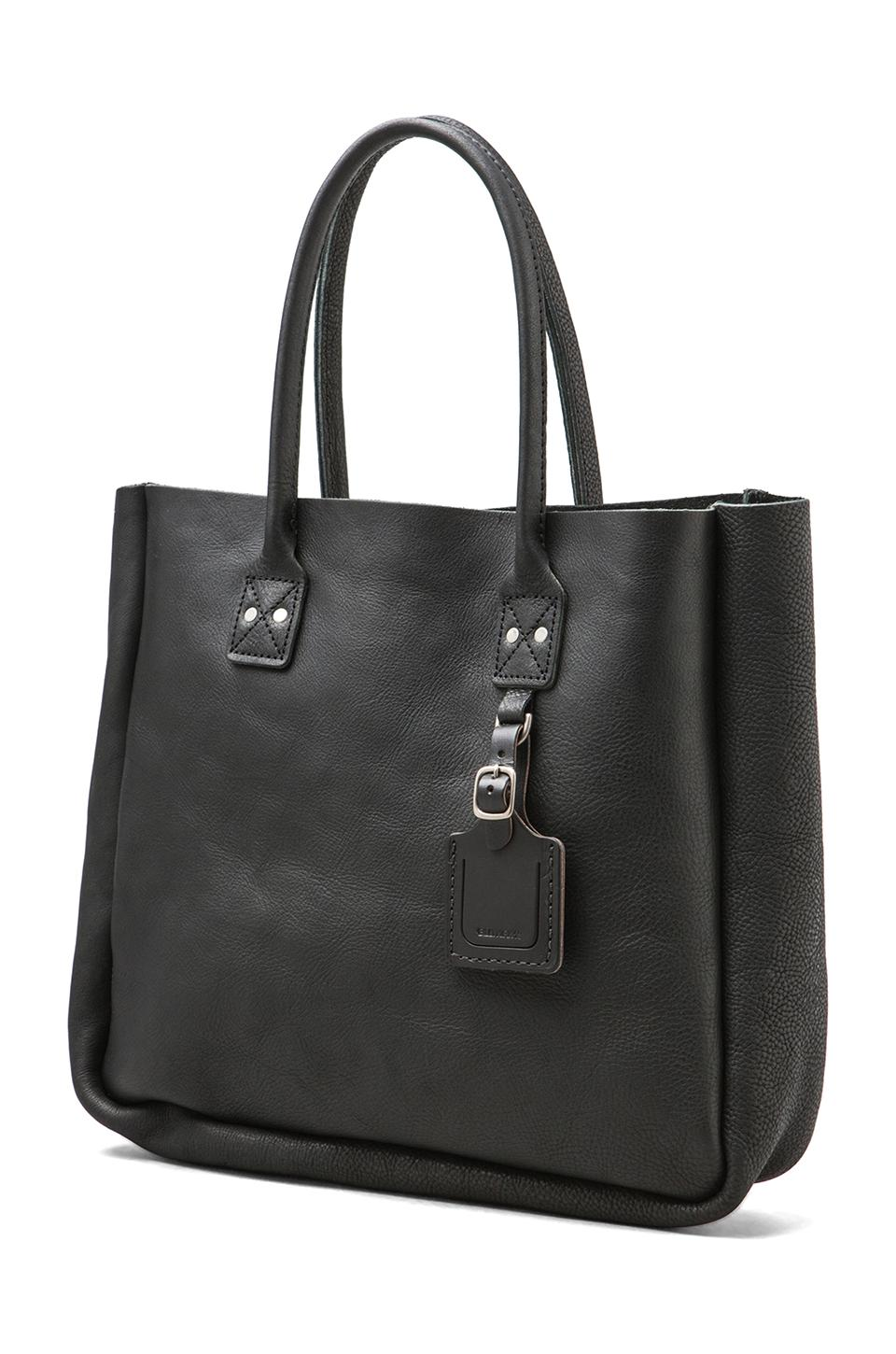 Billykirk No. 235 Leather Tote en Noir