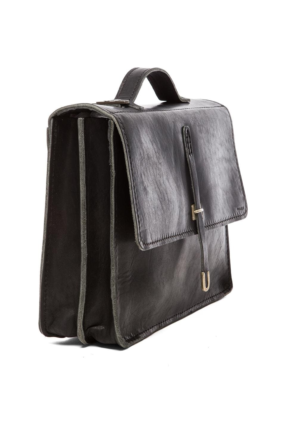 Billykirk No. 236 Schoolboy Satchel in Black