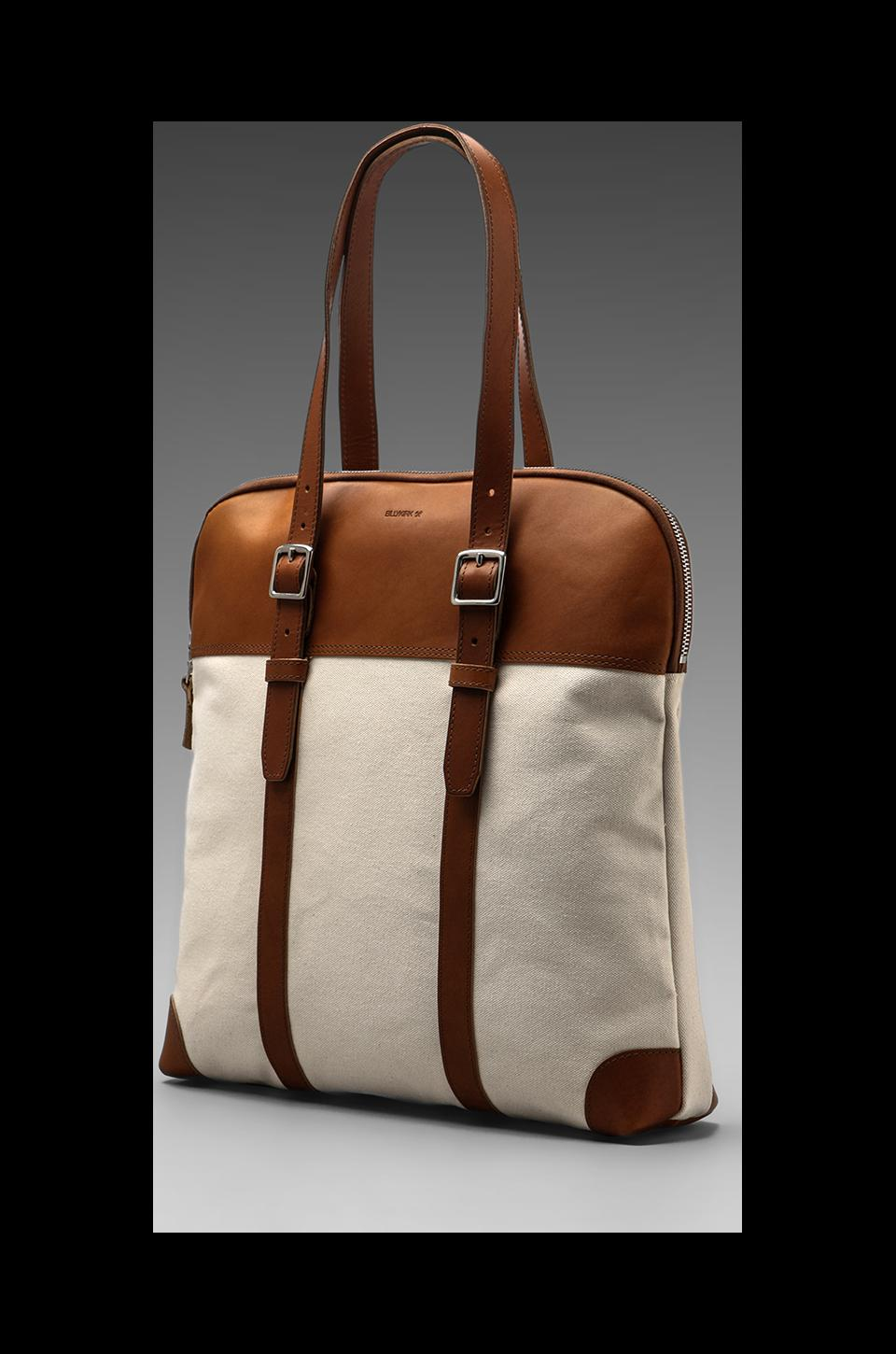 Billykirk Padded Laptop Flight Bag in Natural/Tan