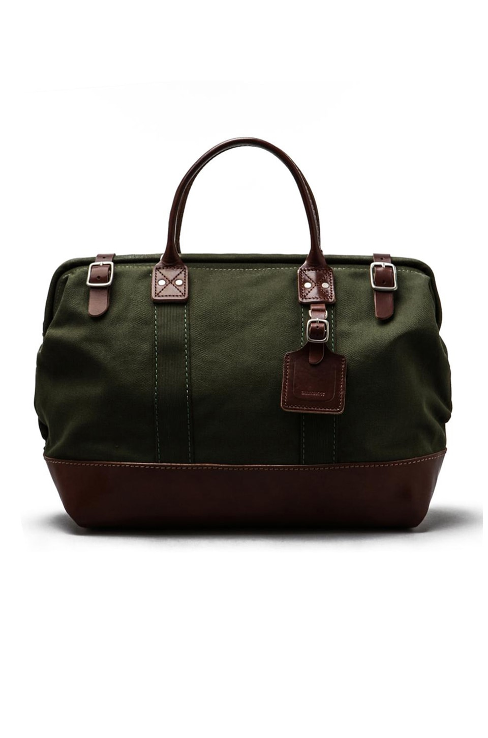 Billykirk No. 165 Medium Carryall in Olive/Brown