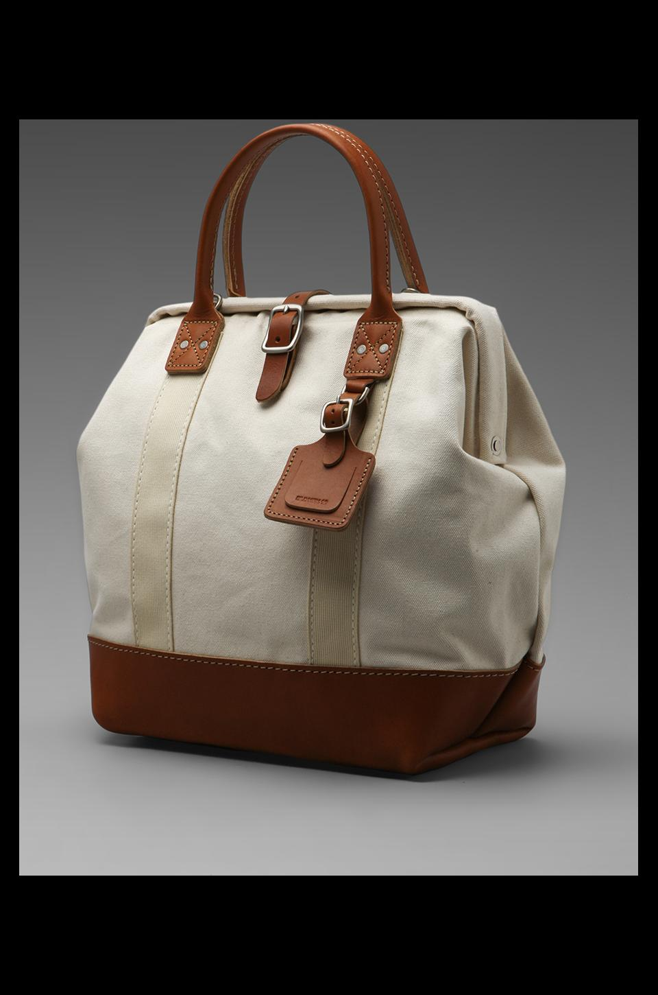 Billykirk No. 164 Small Carryall in Natural With Tan