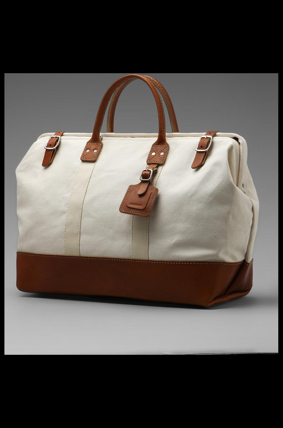 Billykirk No. 166 Large Carryall in Natural With Tan